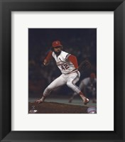 Framed Bruce Sutter - Pitching Action (Cardinals)