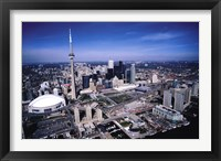Framed Toronto Skyline