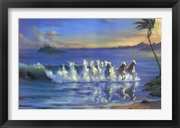 Framed Galloping Waves