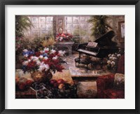 Framed Grand Piano