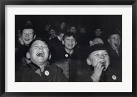 Framed Boys Laugh at Children's Movie Session