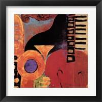 Framed Juxta Jazz IV