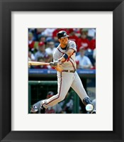 Framed Jeff Francoeur - 2007 Batting Action