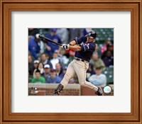 Framed Brian Giles - 2007 Batting Action