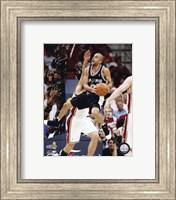 Framed Tony Parker - 2007 Finals / Game 4 (#14)