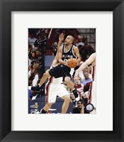 Framed Tony Parker - 2007 Finals / Game 4 (#14)