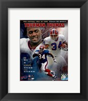 Framed Thurman Thomas - legends Composite