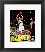 Framed Manu Ginobili - 2007 Finals / Game 2 (#6)