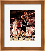 Framed Tim Duncan - 2007 Finals / Game 3 (#10)