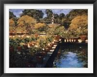 Framed Boboli Gardens - Florence