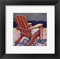 Framed Orange Chair