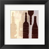 Bordeaux I Framed Print