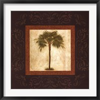 Framed Mediterranean Palm