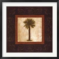 Framed Sago Palm