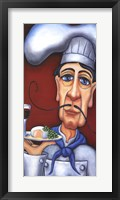 Framed Jacques the Chef