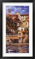 Framed Harbour View