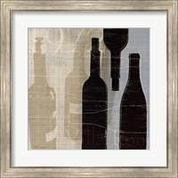Framed Bordeaux I