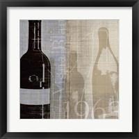 Framed Bordeaux II