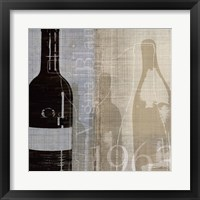 Bordeaux II Framed Print