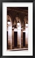 Paris Lights I Framed Print