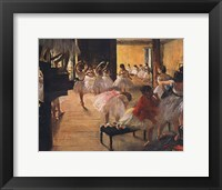 Framed Ballet School, c. 1876