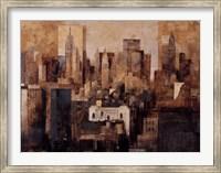 Framed Manhattan & Black Structures