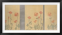 Framed Serenity Poppies