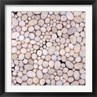 Framed River Pebbles