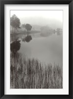 Framed Lakeside Mist
