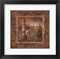 Framed Villa Tuscan