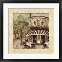 Framed Corner Cafe II