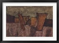 Framed Metallic Creation II