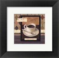 Framed Drinking Mocha Coffee