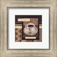 Framed Drinking Short Black Coffee