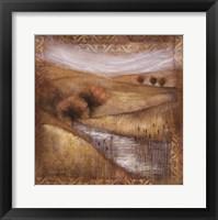 Waterside I Framed Print