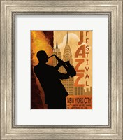 Framed 1962 Jazz in New York