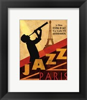 Framed 1970 Jazz in Paris