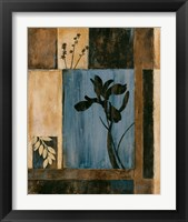 Framed Iris Silhouette