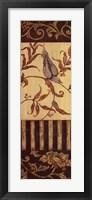 Framed Songbird I
