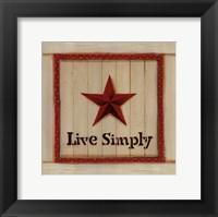 Framed Live Simply