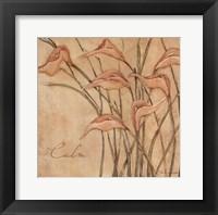 Calm - Floral Framed Print