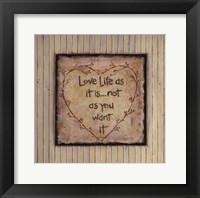 Framed Love Life As It Is