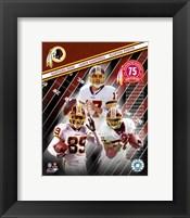 """Framed 2007 - Redskins """"Big 3"""""""