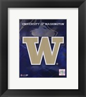 Framed University of Washington Logo