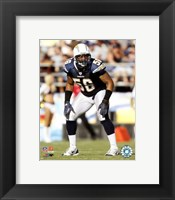 Framed Shawne Merriman - 2007 Action
