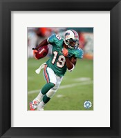 Framed Ted Ginn Jr. - 2007 Action