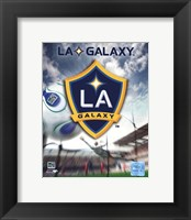 Framed LA Galaxy Team Logo (2007)