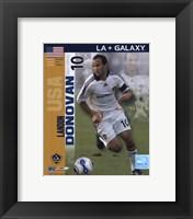 Framed Landon Donovan - 2007 International Series #26