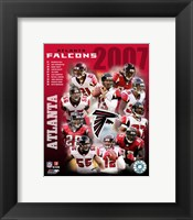 Framed 2007 - Falcons Team Composite