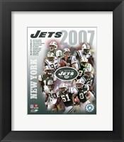 Framed 2007 - Jets Team Composite
